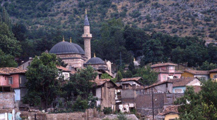 Karaman'dan köy manzarası