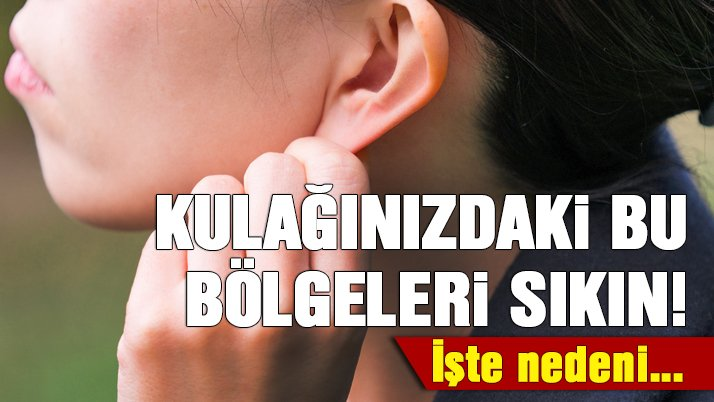 Kulaktaki hangi bölge ağrı kesiyor?
