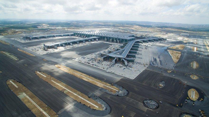 İstanbul Üçüncü Havalimanı - 3'üncü havalimanında işletmeciye verilen 12 yıllık yolcu garantisi gelirinin değeri 6.3 milyar Euro.