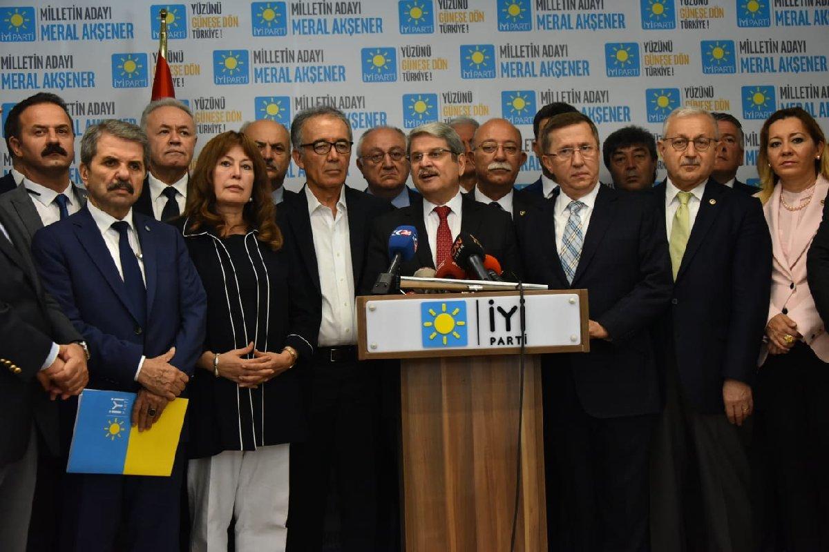 İYİ Parti Sözcüsü Aytun Çıray, Bahçeli'nin sözlerine tepki göstermişti.