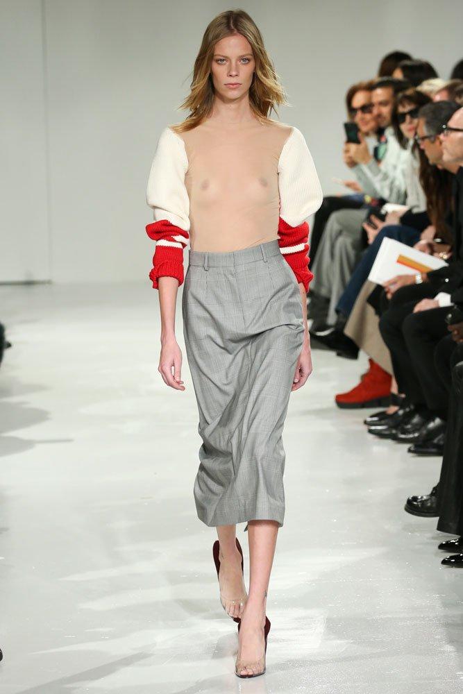 Calvin Klein transparan bluz 10 bin 100 TL