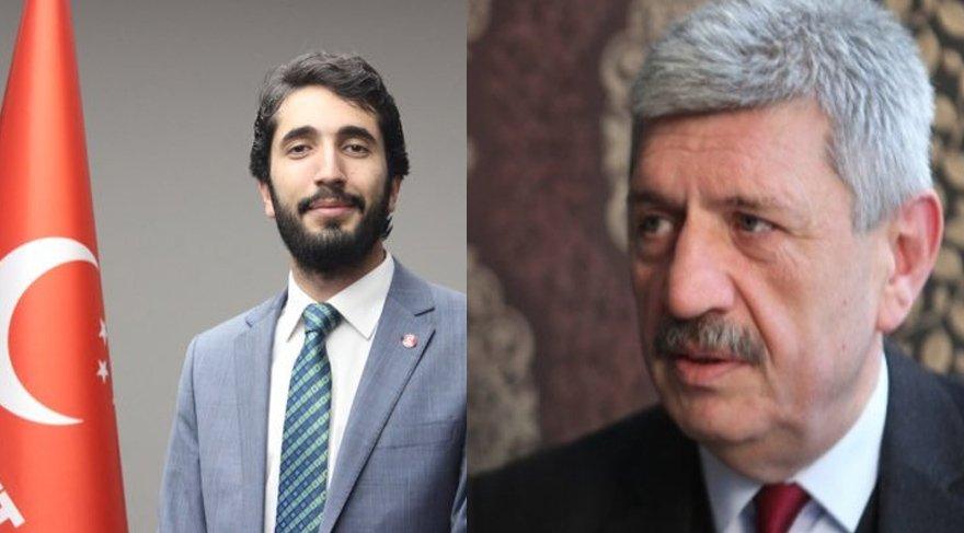 Mustafa Karaduman (solda) ve Cihangir İslam (sağda) CHP'den istifa ettiler.
