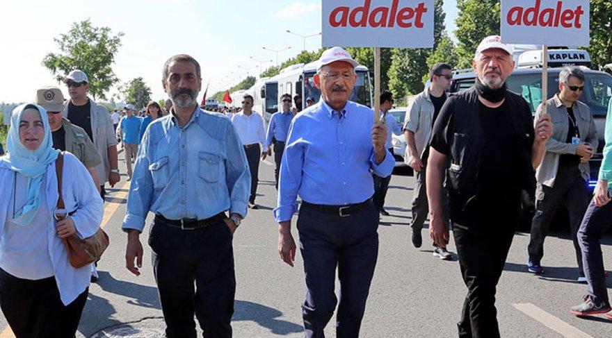 FOTO:DHA - Cihangir İslam, Adalet Yürüyüşü'ne de katılmıştı.