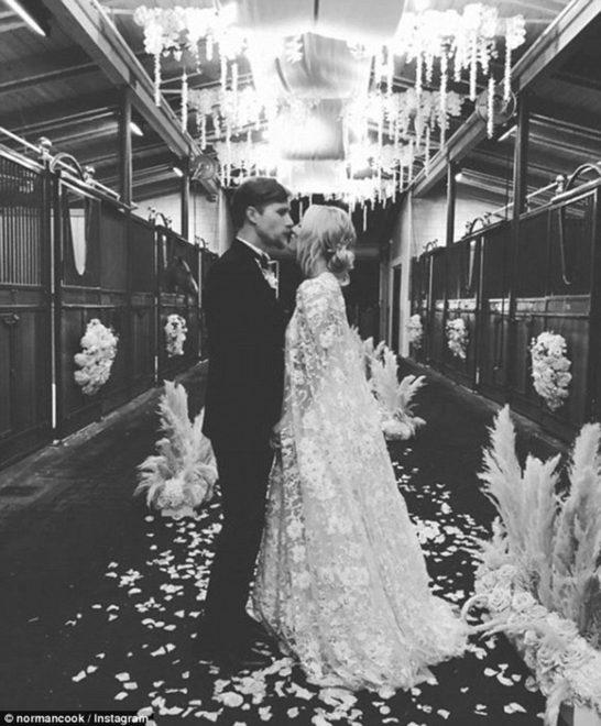 Çift 30 Haziran'da evlendi.