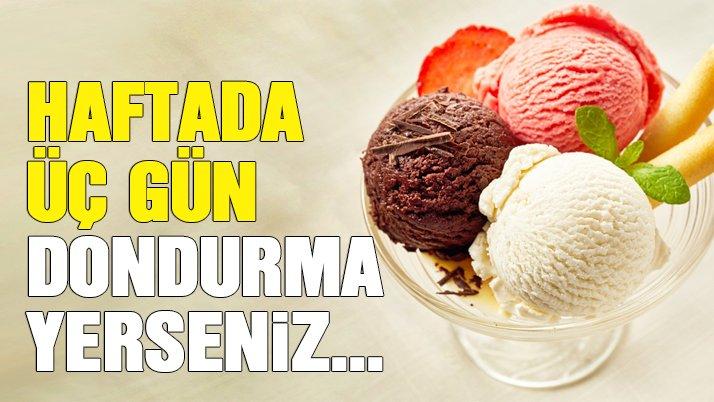 Dondurma yemenin faydaları