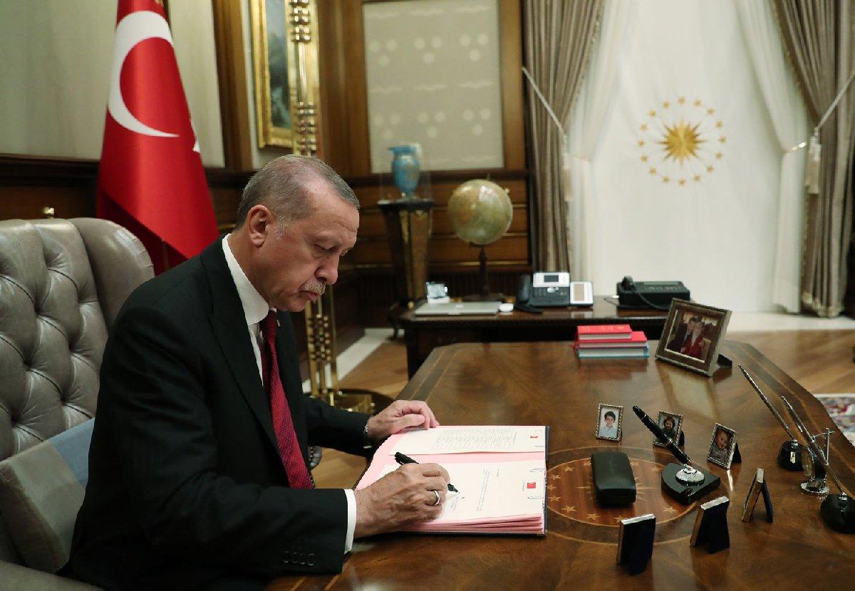FOTO: AA / Cumhurbaşkanı Recep Tayyip Erdoğan, Yeni Hükümet Sistemi'nin ilk kabinesini böyle onayladı.
