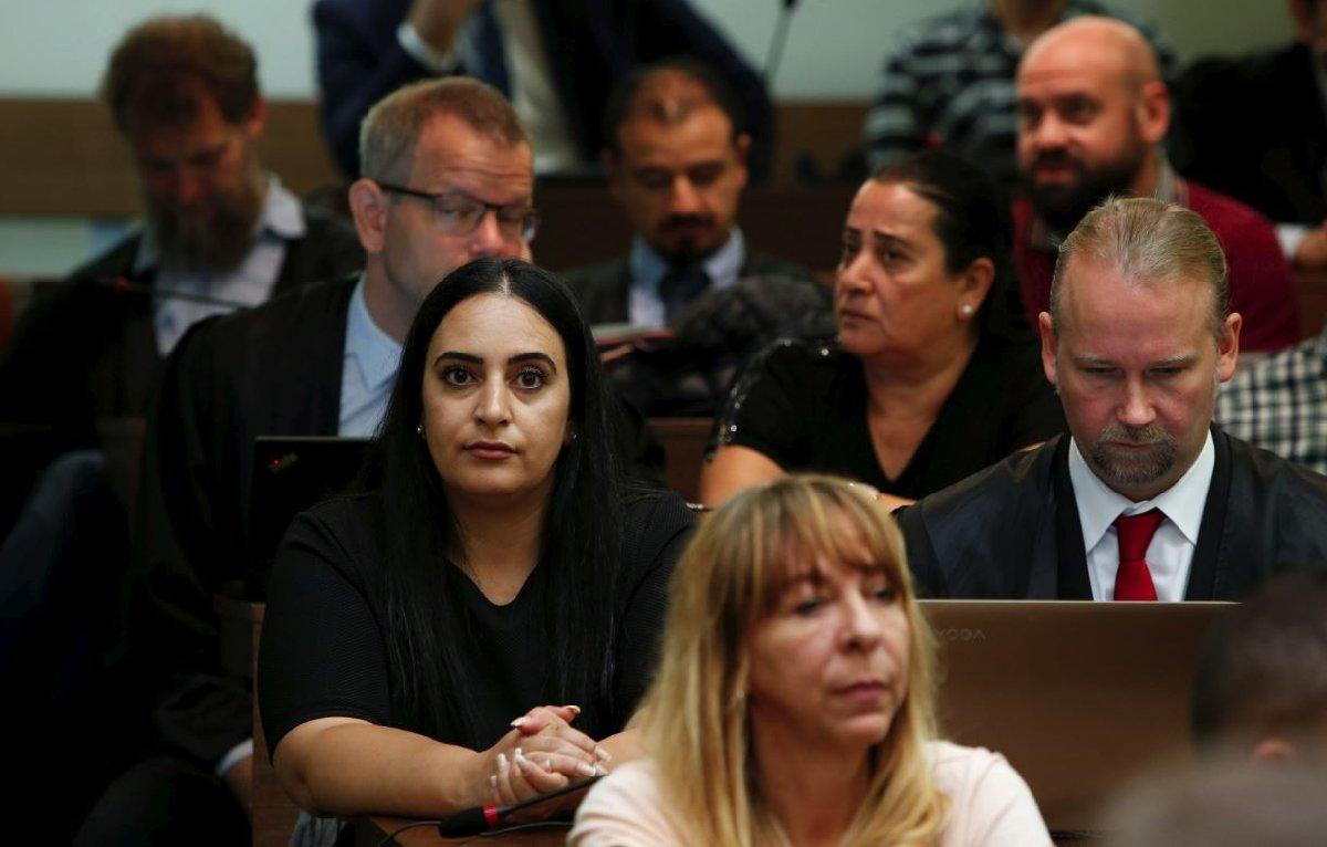NSU tarafından öldürülen Mehmet Kubaşık'ın kızı Gamze de duruşmaya katıldı.