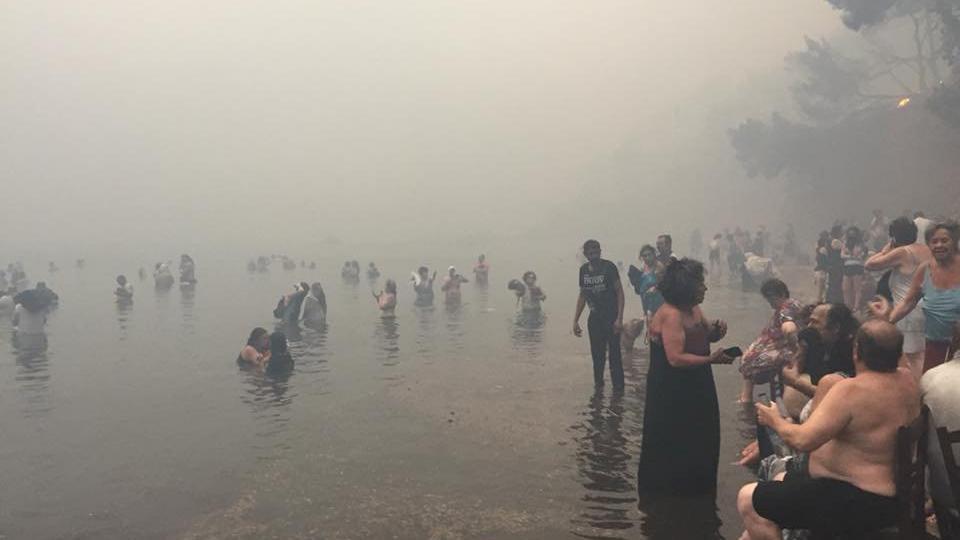 Yunanistan'dan yangın faciasının acı bilançosu artıyor