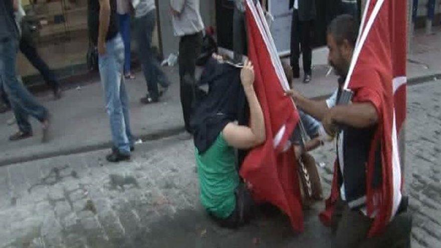 Gezi'nin bayrakçısı beraat etti