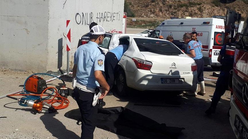 Başkentte iki kaza: 4 ölü, 6 yaralı