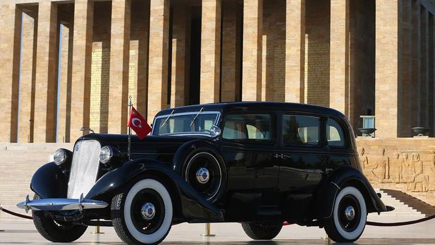 Atatürk'ün Anıtkabir'deki otomobili restore edildi