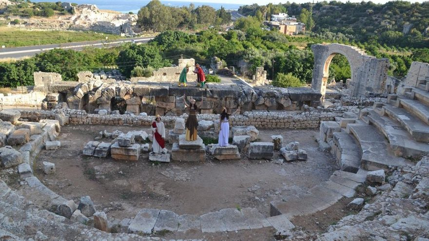 Ayaş Antik Tiyatrosu 2 bin yıl sonra yeniden perde açıyor