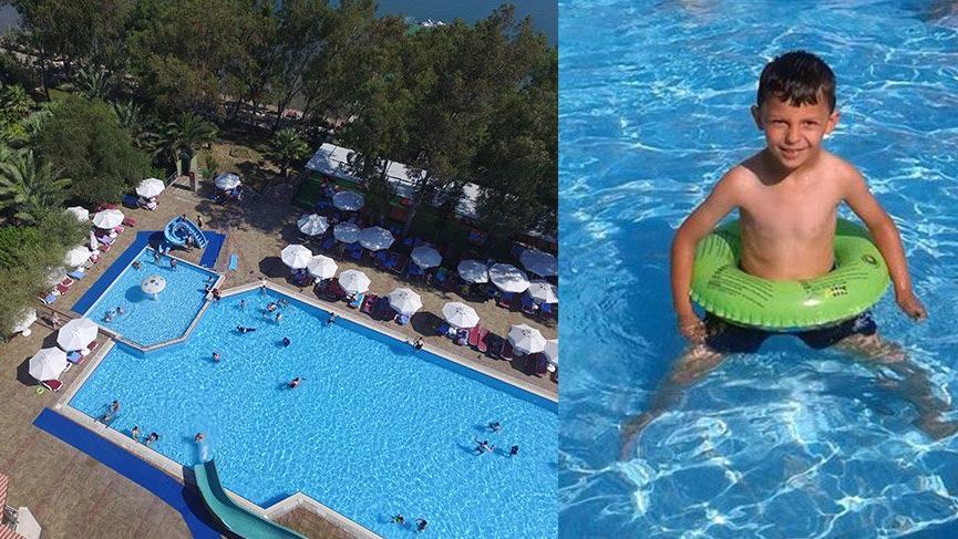 8 yaşındaki çocuk otel havuzunda boğuldu