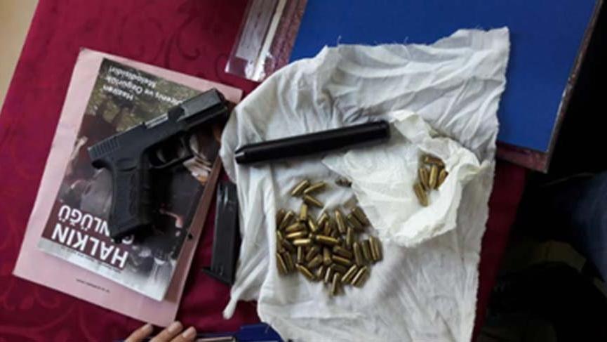 Kırsalda silah eğitimi alan kadın terörist İstanbul'da yakalandı