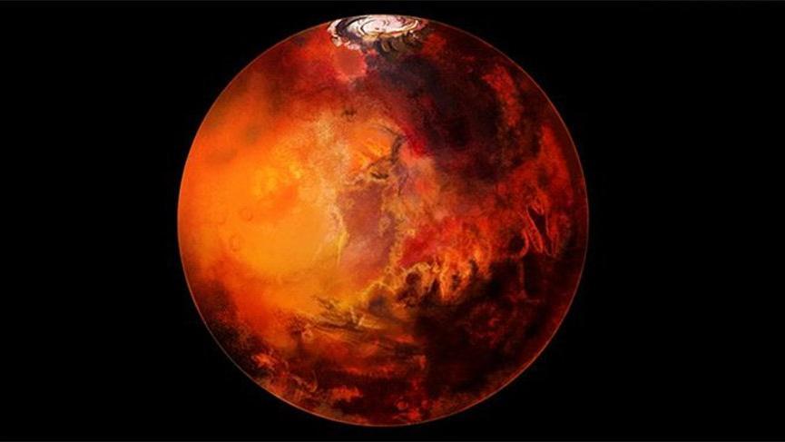 Mars'ta su aranıyordu, göl bulundu!