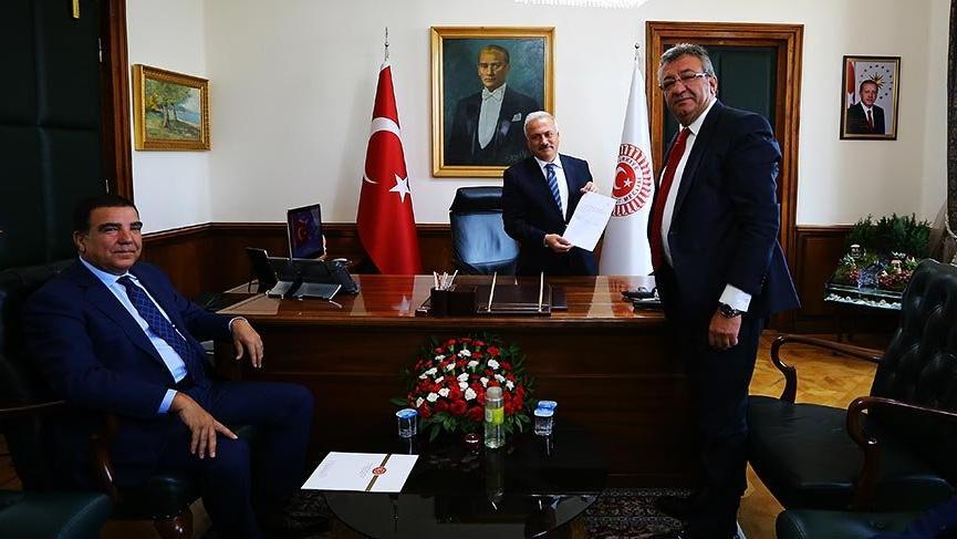 CHP Meclis Başkanı adaylığı başvurusunu yaptı