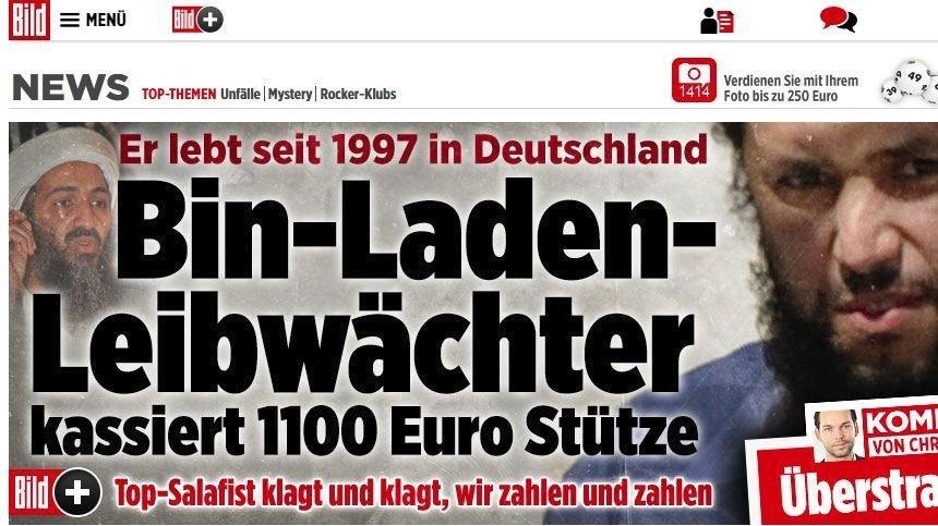 Almanya'dan flaş karar… Bin Ladin'in korumasına maaş bağlamışlardı…