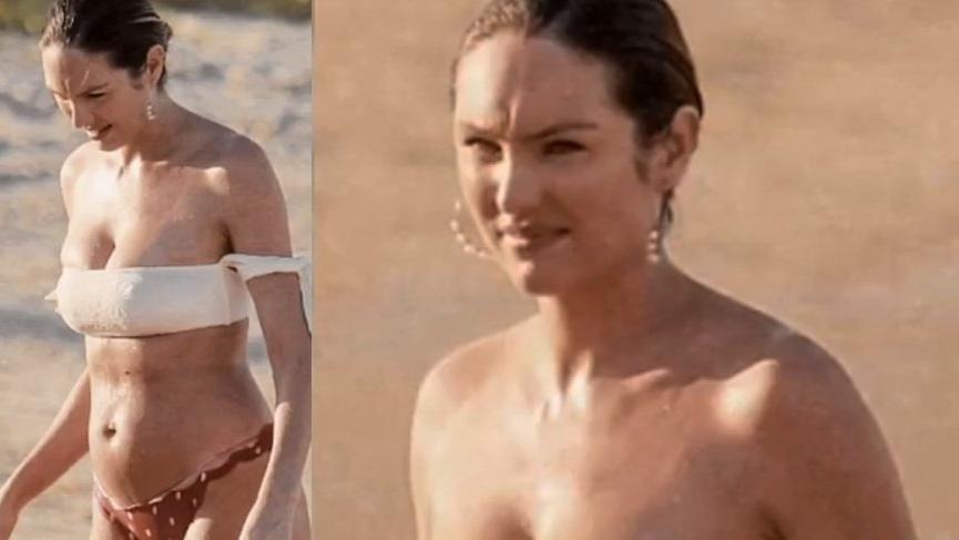 Ünlü model Candice'i çıldırttılar: Ben utanmıyorum
