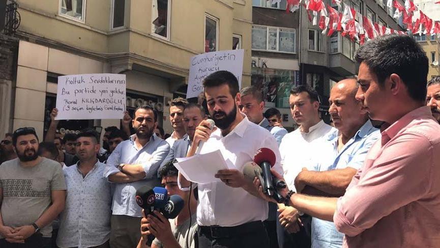 CHP'li gençlerden 'değişim' çağrısı