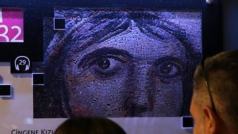 'Çingene Kızı' mozaiği ile ünlü Zeugma Müzesi'ne ziyaretçi akını