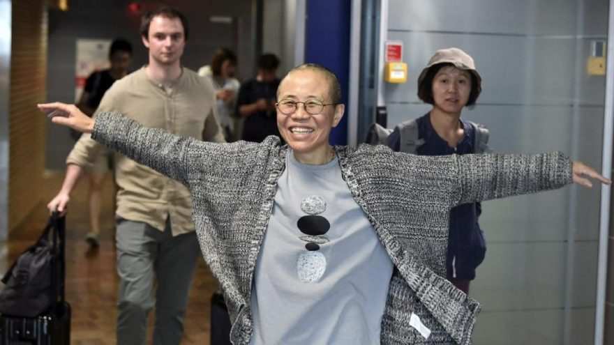 Çinli Nobel Barış Ödülü sahibinin eşi Helsinki'de