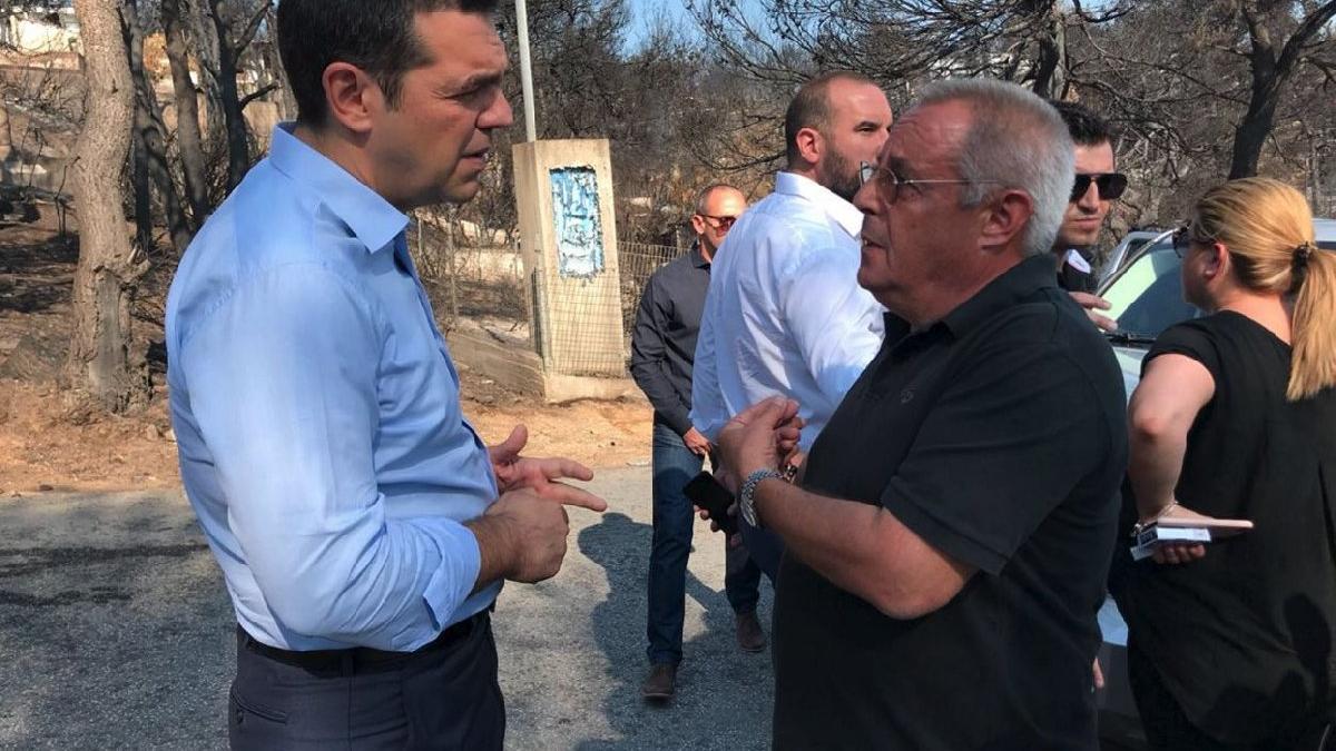 Yunanistan'da ölü sayısı artıyor... Başbakan bölgeyi ziyaret etti