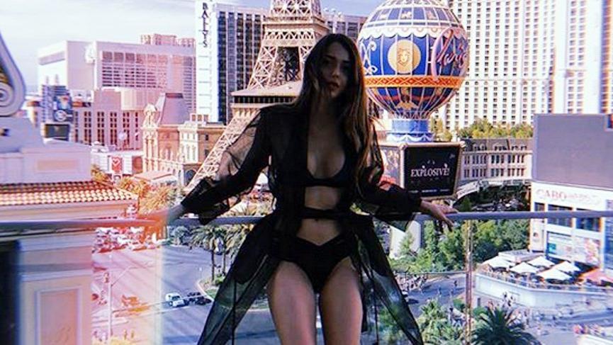 Herkes plajdan, Dilan Amerika'dan paylaştı… Bikinili kare!