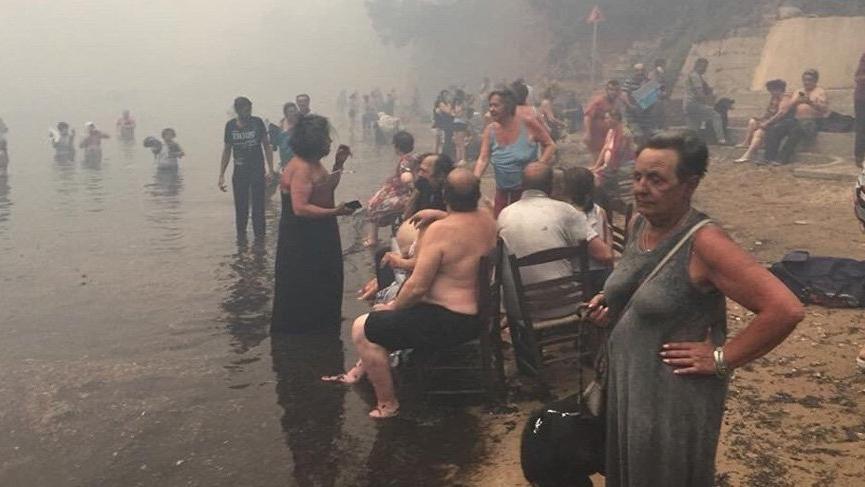 Yunanistan'daki yangın felaketi için vicdansız yorumlar