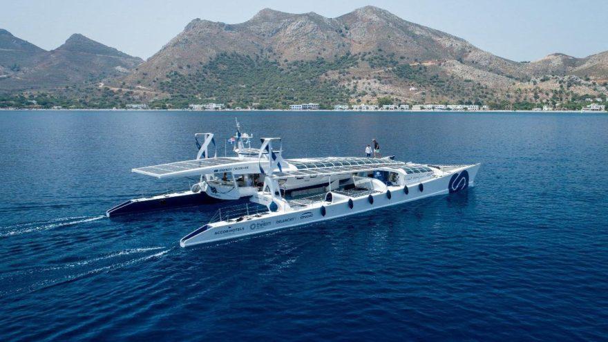 Dünyanın ilk hidrojenle çalışan gemisi!