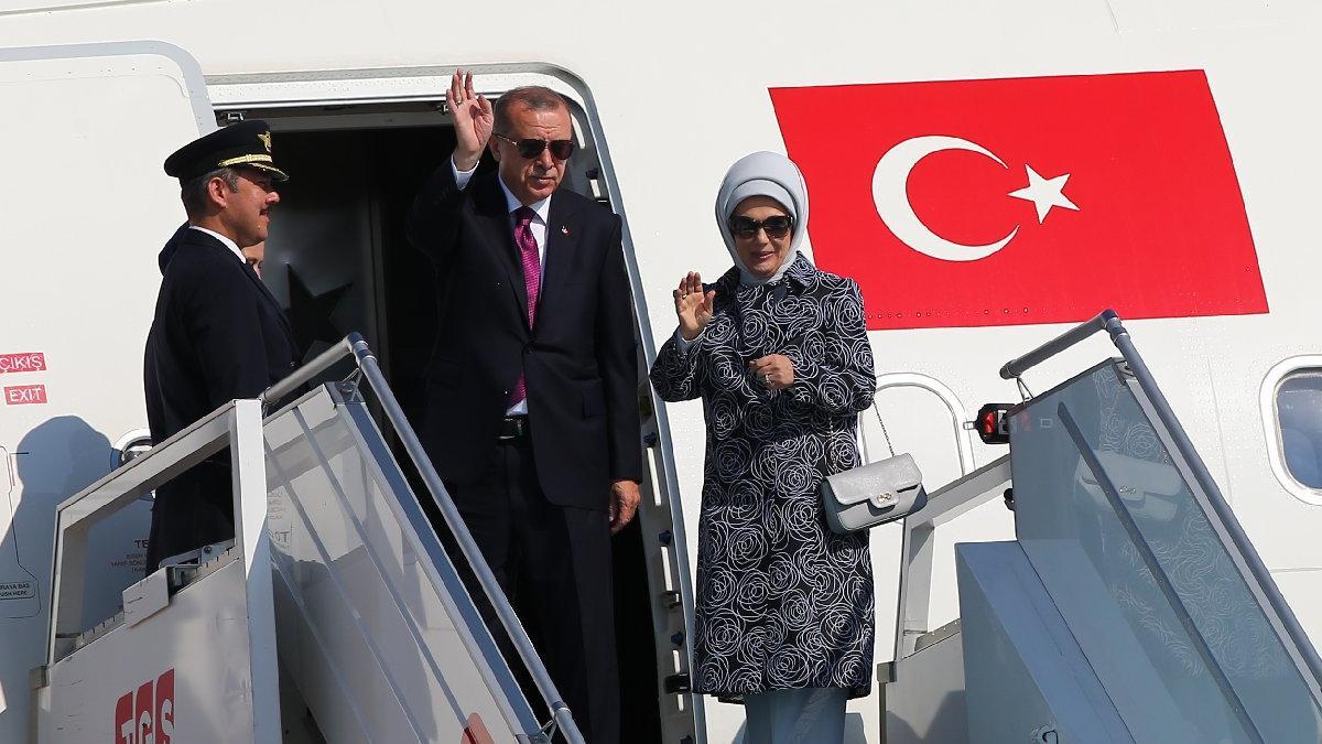 Erdoğan NATO zirvesi için Brüksel'e gitti