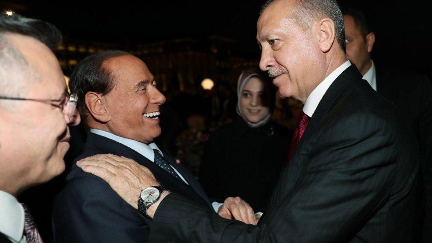 Berlusconi, Ankara'ya geldi… Ne oldu sana Silvio?