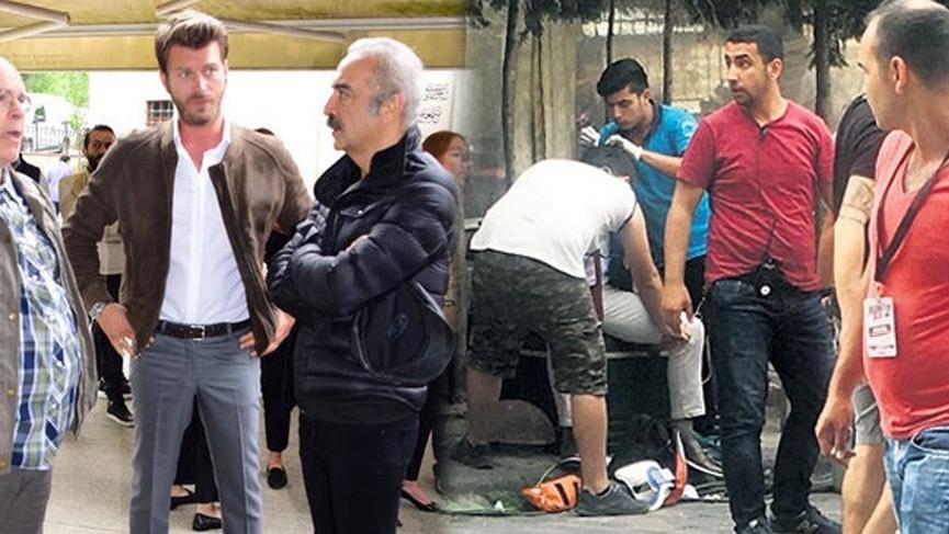 'Organize İşler 2: Sazan Sarmalı'nın setinde talihsiz kaza!