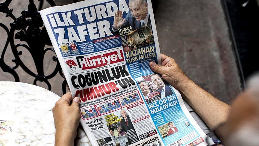 Hürriyet, Doğu Avrupa ve Rusya'dan çıktı