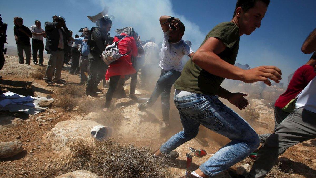 İsrail'den yanan uçurtma üzerinden Filistin'e roket