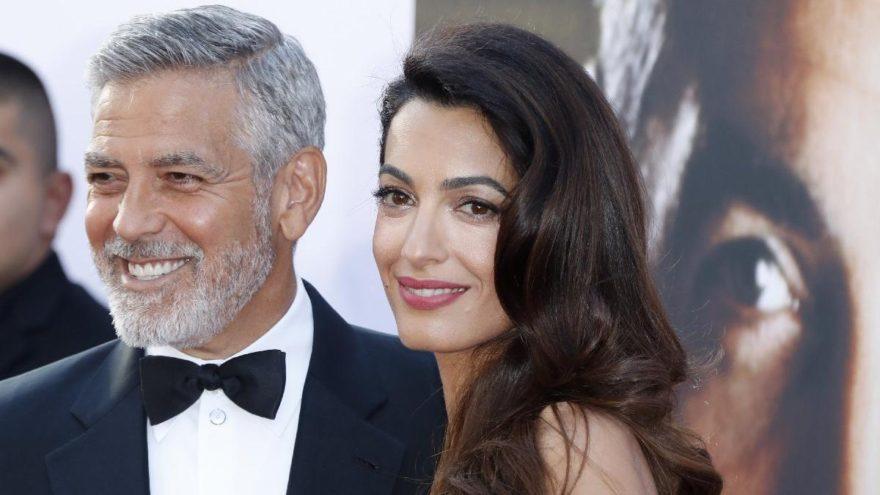 George Clooney kaza geçirdi