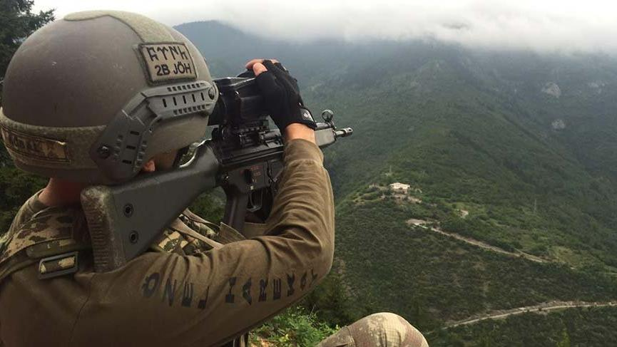 Gümüşhane'de çembere alınan PKK'lı teröristlerle çatışma çıktı
