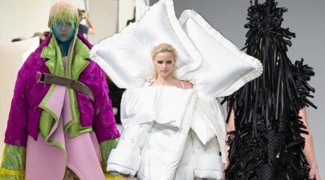 2018 Haute Couture haftasındaki tasarımlar şaşkınlık yarattı;