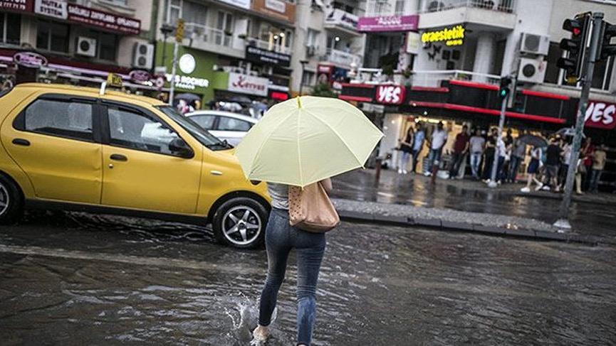 Hafta sonuna dikkat! Sağanak yağışlar geliyor… İşte Meteoroloji uyarıları!