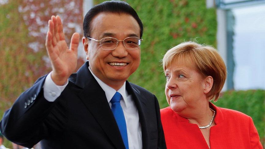 Çin ticaret savaşlarında Almanya'ya kur yapıyor