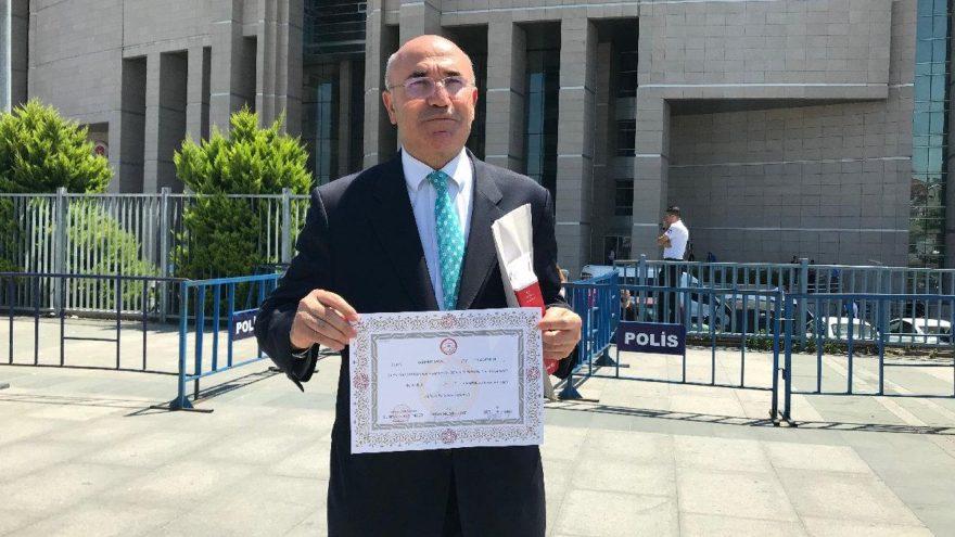 Mazbatasını Alan Mahmut Tanal, İlk İş Beraat Talep Etti