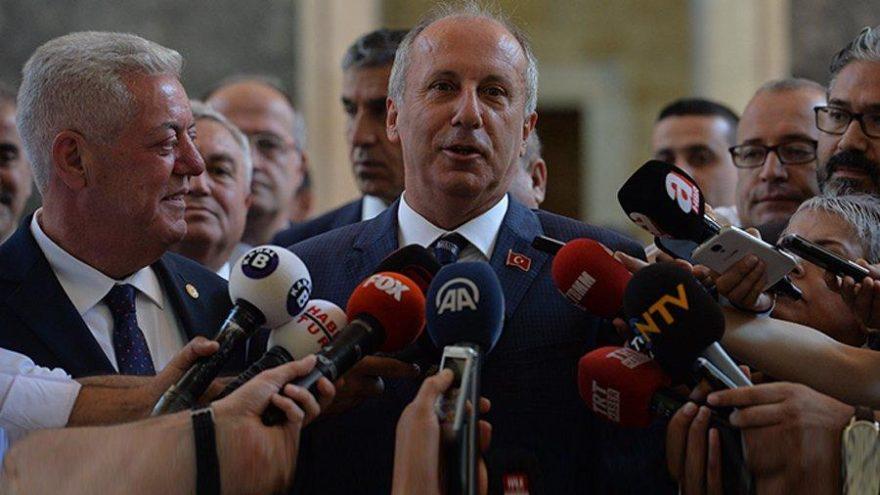 Kılıçdaroğlu'ndan İnce'ye: Siyasi nezaketsizliktir