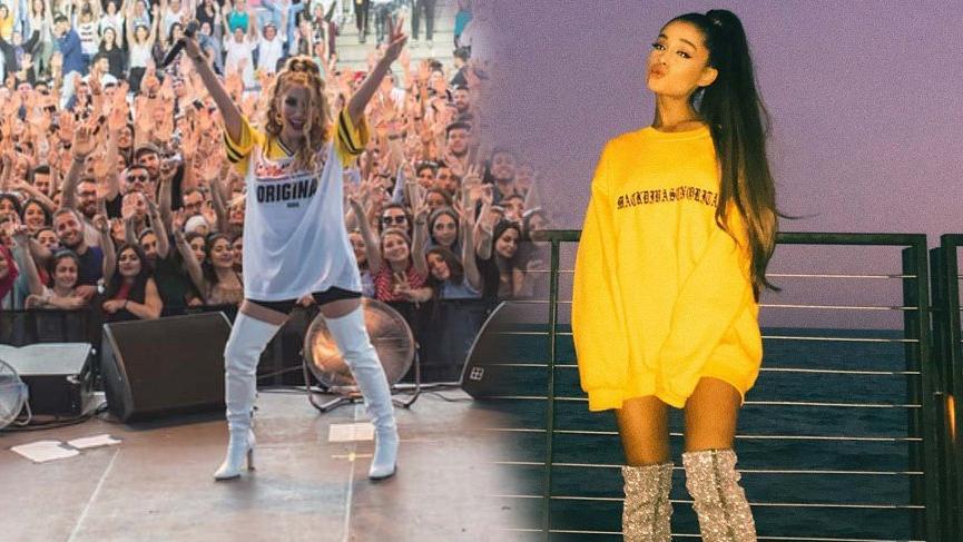 İrem Derici yeni stiliyle Ariana Grande'ye benzedi