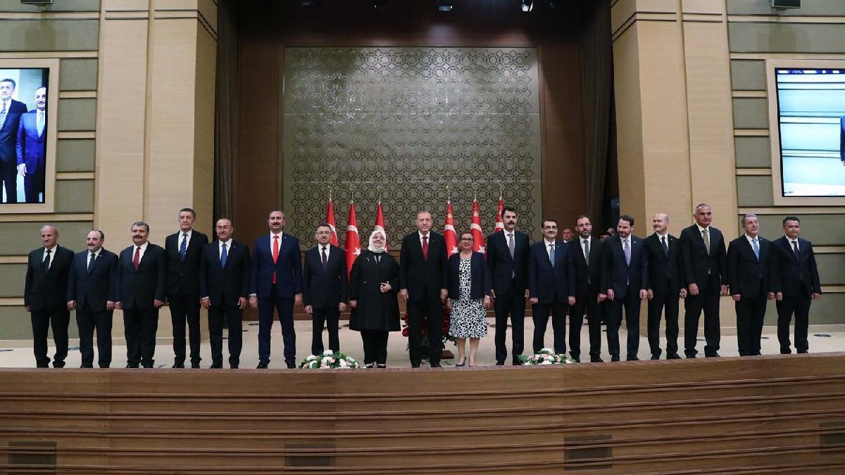 Cumhurbaşkanı Erdoğan yeni bakanları açıkladı! İşte yeni bakanlar listesi