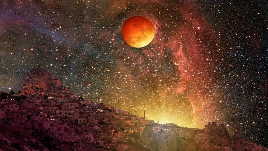 Kanlı Ay Tutulması için başladı! Kanlı Ay Tutulması saat kaçta ve hangi noktalardan izlenebilecek?
