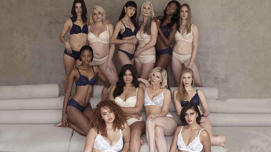 Beauty has no bounds kampanyasında her bedenden 12 kadın yer aldı