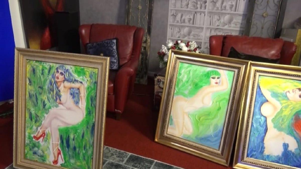 Adnan Oktar'ın evinden çıktı... Kediciklerin nü tablosu!