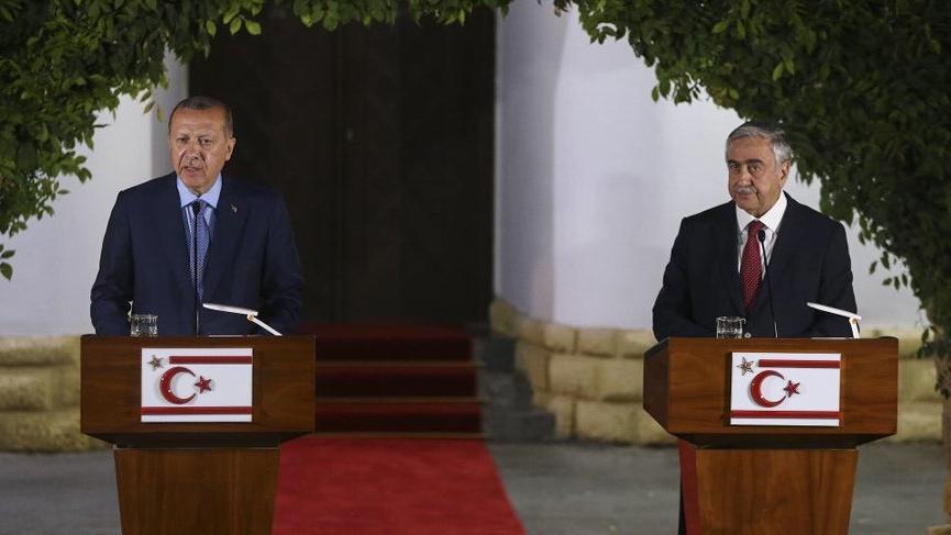 Erdoğan: Kıbrıs milli davamızdır