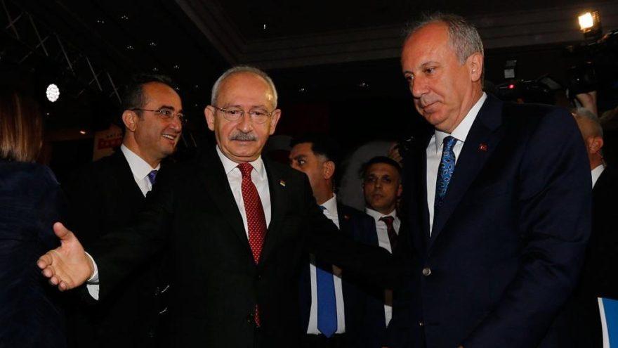 Kılıçdaroğlu ile Muharrem İnce görüşecek