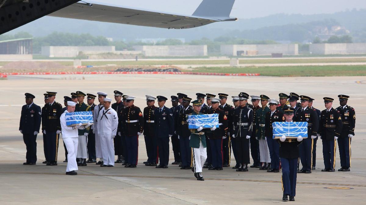 ABD-Kore arasında tarihi adım... Yıllar sonra teslim edildi