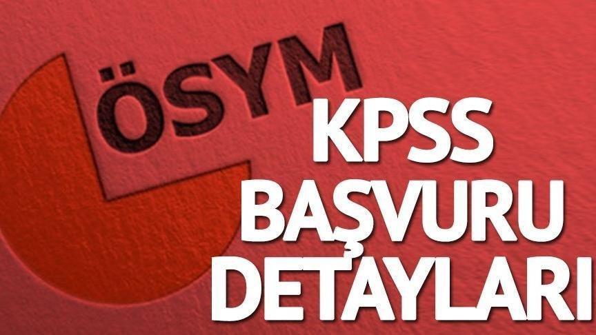 ÖSYM lise KPSS başvuru kılavuzu yayımlandı! 2018 KPSS başvuruları nasıl yapılır?
